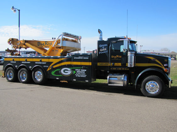 Big Rig Towing & Recovery in Eau Claire